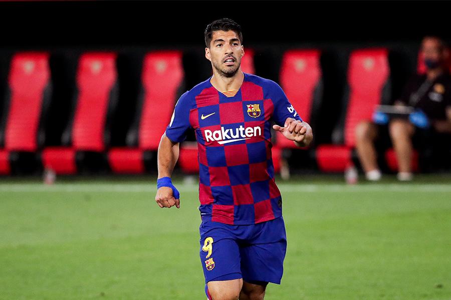 バルセロナで活躍するFWルイス・スアレス【写真:Getty Images】