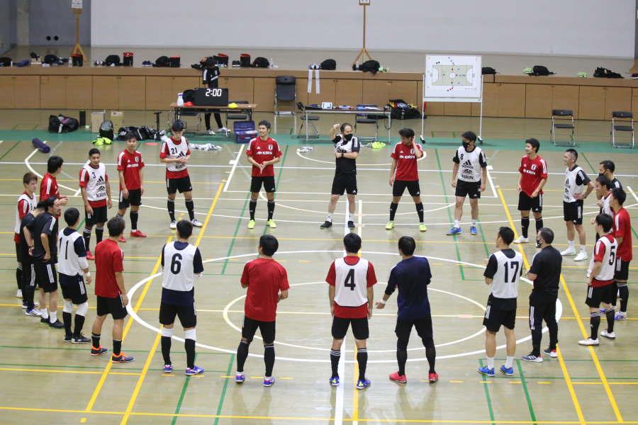 フットサル日本代表が8月に2度の合宿実施【写真:河合拓/Futsal X】