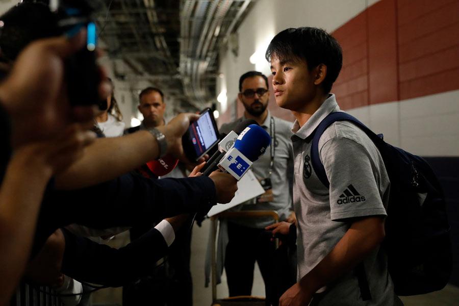 日本代表MF久保建英がビジャレアルへレンタル移籍【写真:Yukihito Taguchi】