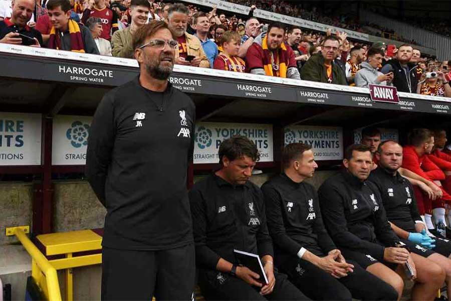リバプールのユルゲン・クロップ監督は新シーズンに向けて持論を展開した【写真:Getty Images】