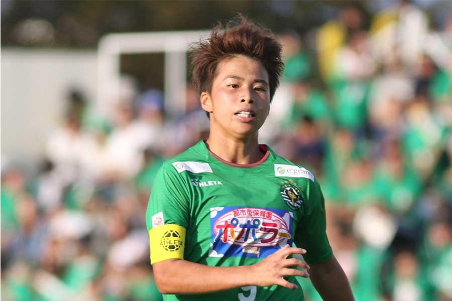 リーグカップ決勝で2ゴールを奪ったFW田中美南【写真:Football ZONE web】