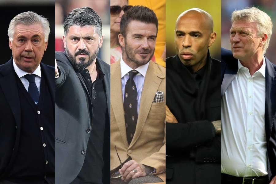 ベッカム氏(中央)がオーナーを務めるMLSクラブ、初代監督にビッグネーム招聘か【写真:Getty Images】