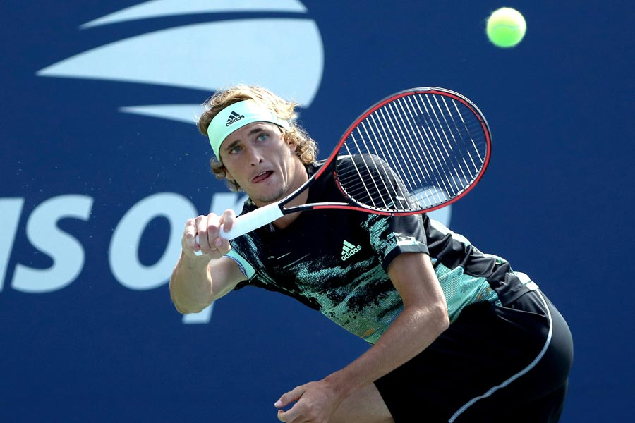 プロテニスプレーヤーのアレクサンダー・ズベレフ【写真:AP】