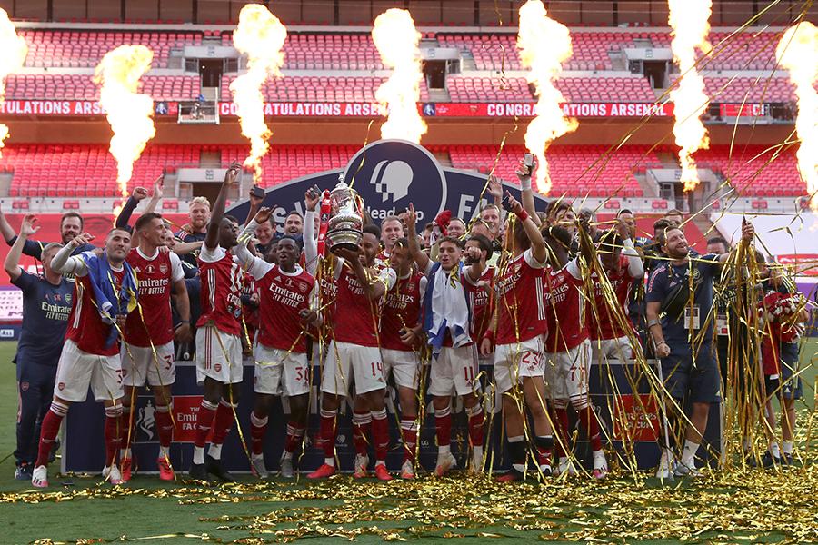 アーセナルがFAカップで歴代最多となる14度目の優勝【写真:AP】