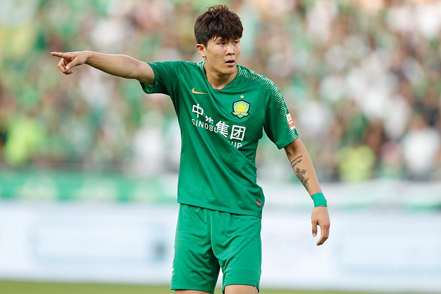 北京国安でプレーする韓国代表DFキム・ミンジェ【写真:Getty Images】