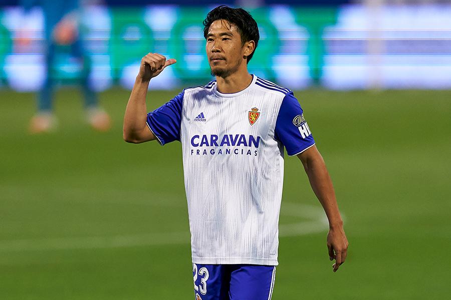MF香川真司が所属するレアル・サラゴサがリーグ側に驚きの提案【写真:Getty Images】