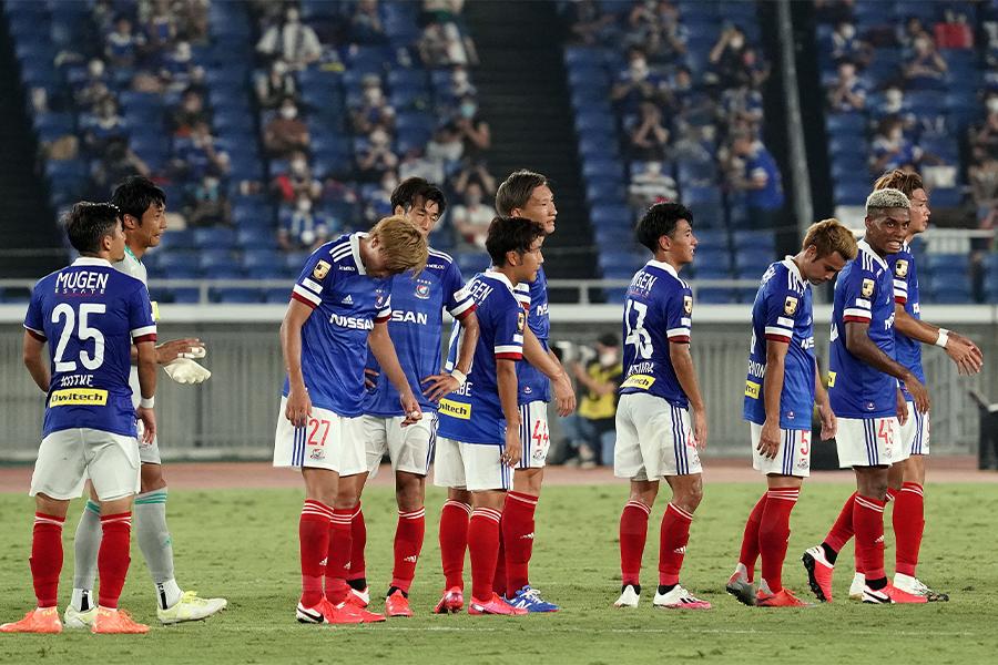 横浜F・マリノスはチームのスタイルを貫くも勝ちきれず【写真:Getty Images】