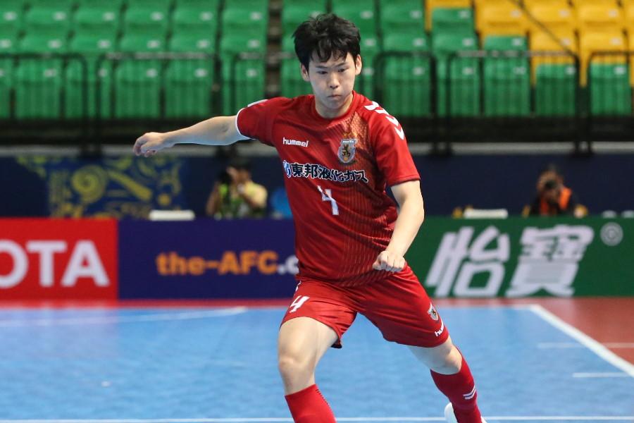 名古屋オーシャンズのFP水谷颯真【写真:河合拓/Futsal X】