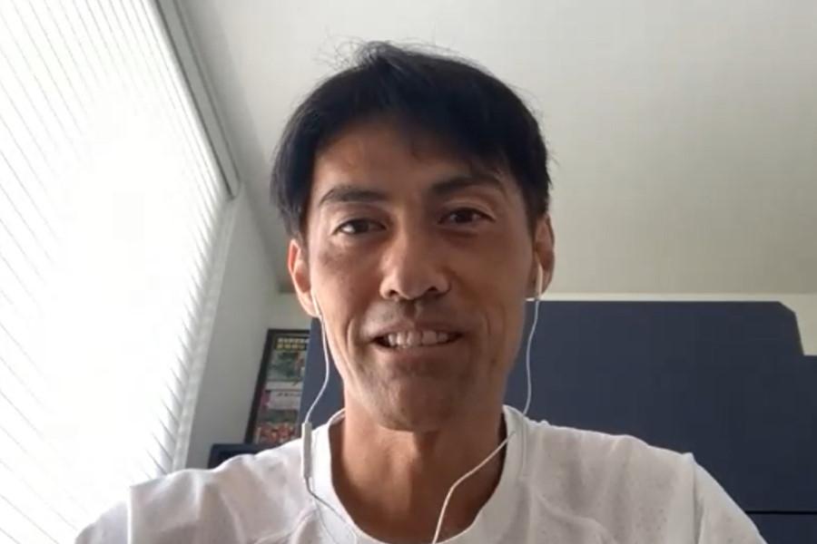 欧州CL決勝を展望した楢﨑氏【※画像はスクリーンショットです】