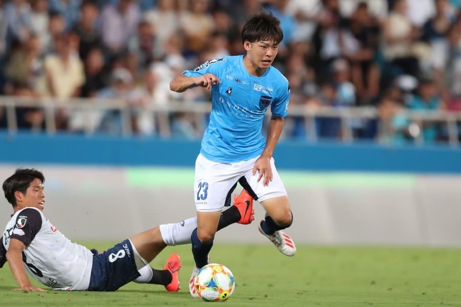 横浜FCのFW斉藤光毅【写真:高橋 学】