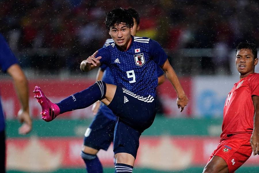 パラグアイ戦に続いて得点を決めた日本代表MF南野【写真:Yukihito Taguchi】