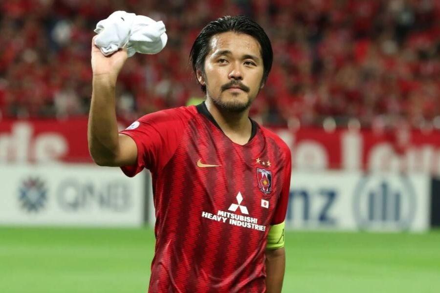 ACLでのゴール数を日本人最多25得点に更新したFW興梠【写真:高橋学】