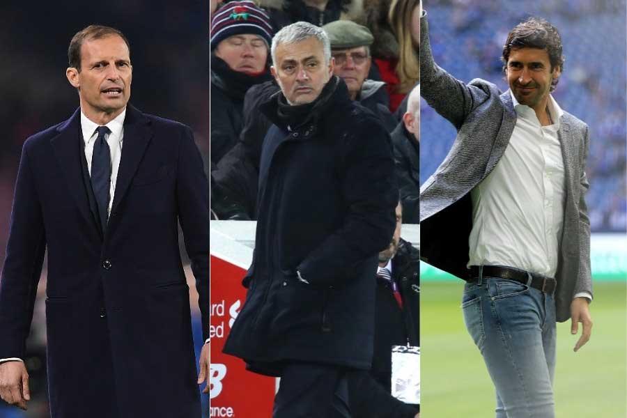 アッレグリ、モウリーニョとともにOBのラウールが候補に【写真:Getty Images】