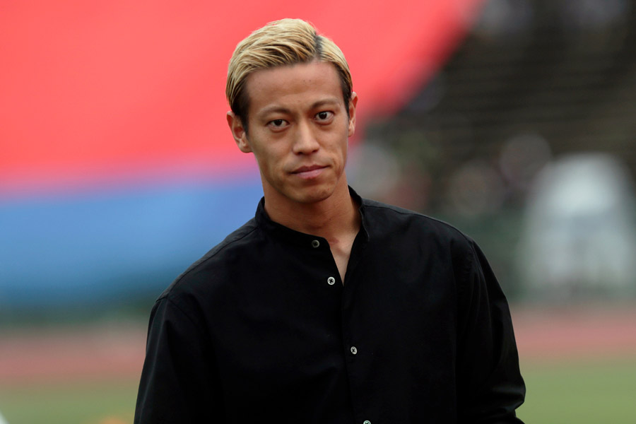 ボタフォゴでプレーする本田圭佑が持論を展開【写真:AP】