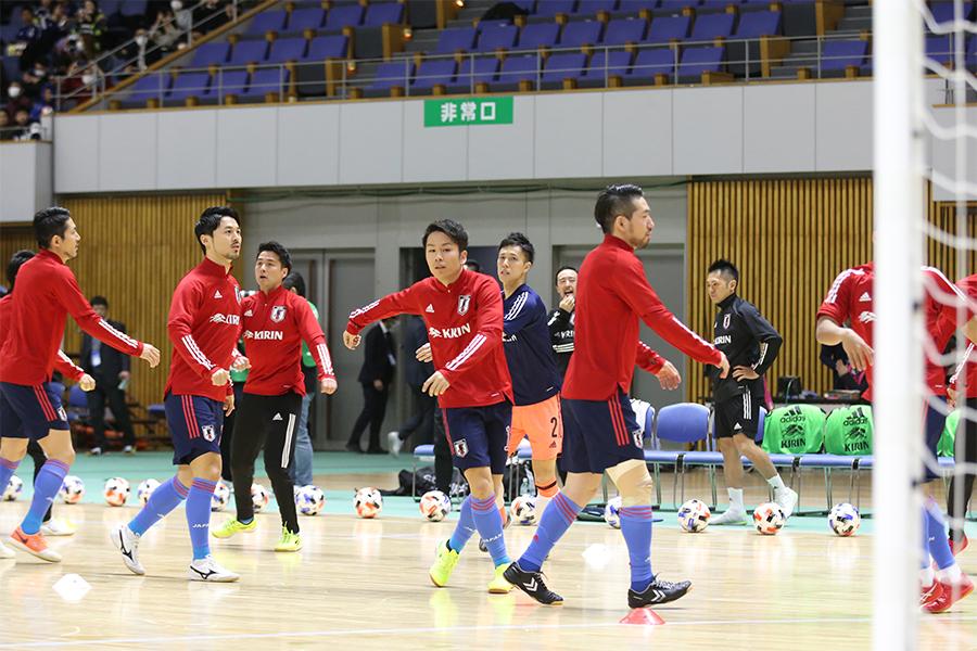 14日からトレーニングキャンプが千葉県の高円宮記念JFA夢フィールドで実施される【写真:河合拓/Futsal X】