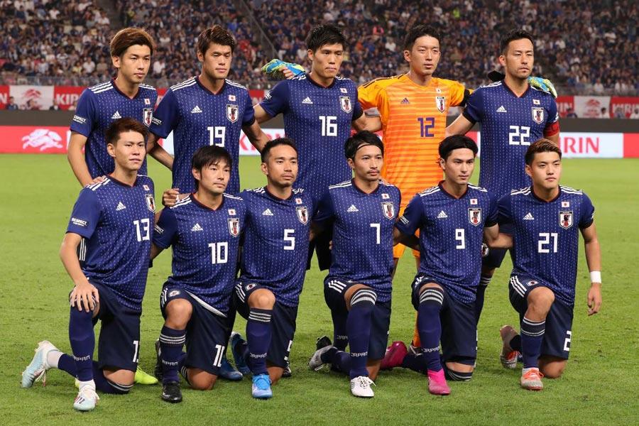 ワールドカップ、アジアカップからチーム戦術に進展なし?【写真:高橋学】