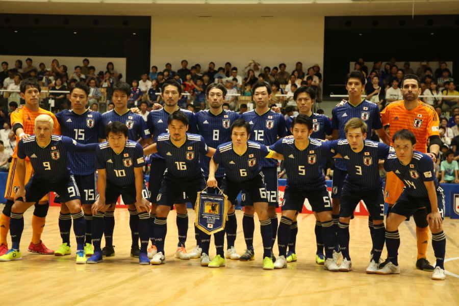 フットサル日本代表メンバーが発表された【写真:河合拓/Futsal X】