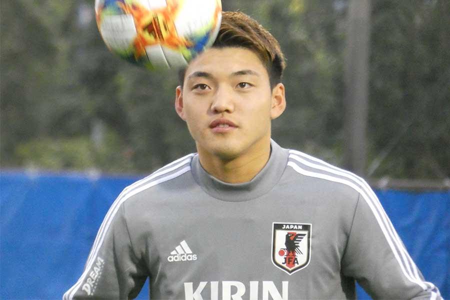 PSVの日本代表MF堂安律【写真:Football ZONE web】