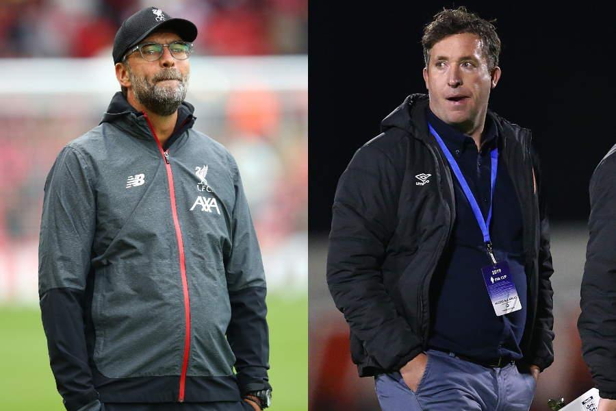 ファウラー氏(右)が、クロップ監督がリバプールを選んだ理由を明かした【写真:Getty Images】