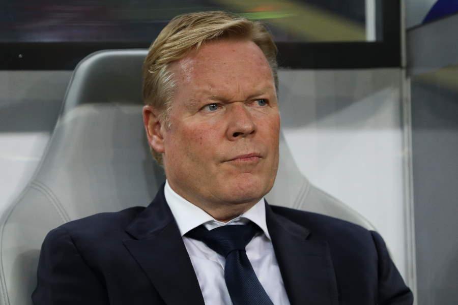 オランダ代表のクーマン監督はバルセロナでの指揮を希望しているようだ【写真:Getty Images】