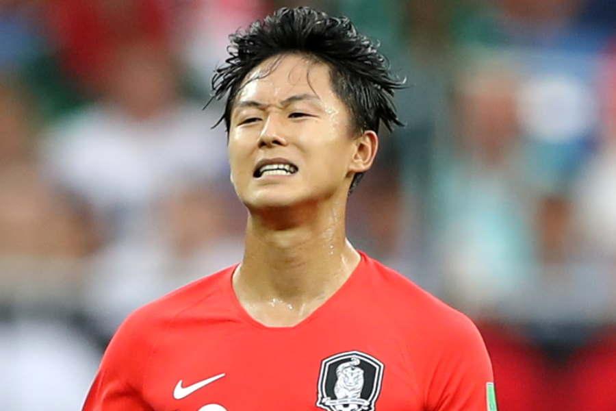 韓国代表で、シント=トロイデンで出場機会を得られないイ・スンウ【写真:Getty Images】