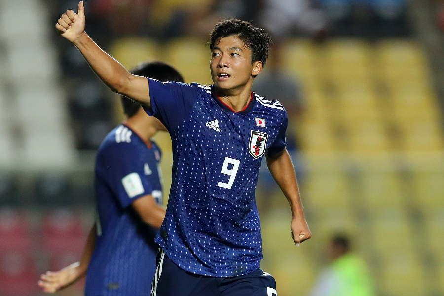 FIFA公式称賛のU-17日本代表、若月大和【写真:Getty Images】