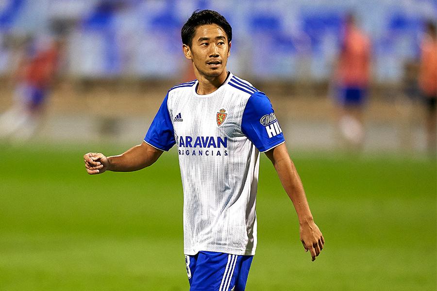 MF香川真司がレアル・サラゴサとの契約解除へ【写真:Getty Images】