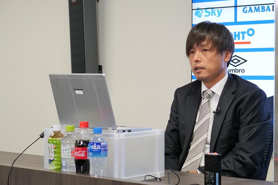 J2ジュビロ磐田へ期限付き移籍を発表したMF遠藤保仁【写真:ⓒ GAMBA OSAKA】