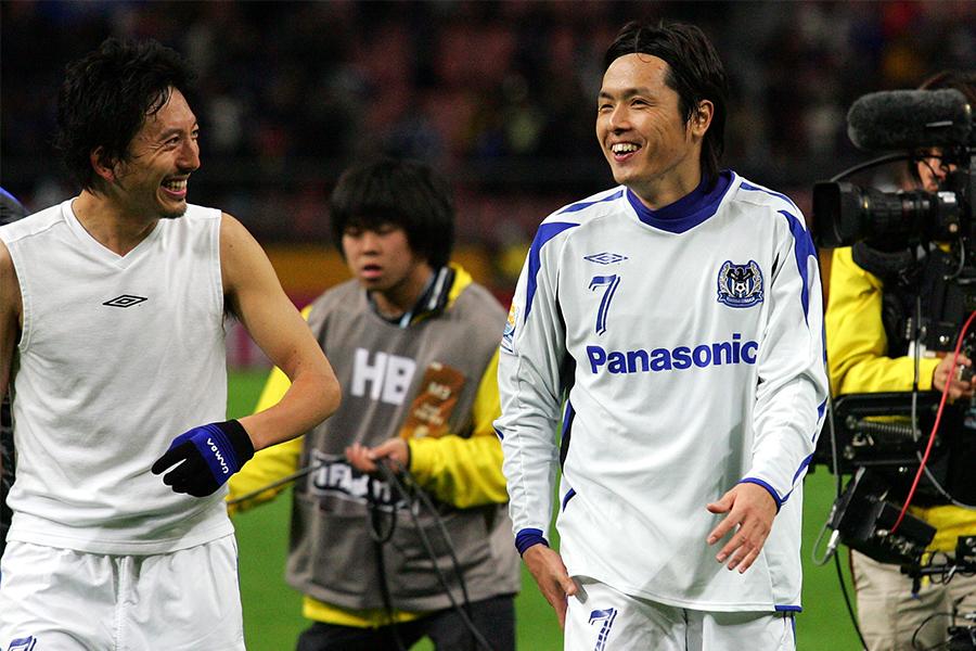 かつての同僚MF橋本英郎がジュビロ磐田への移籍を発表したMF遠藤保仁について言及(写真はガンバ時代のもの)【写真:Getty Images】