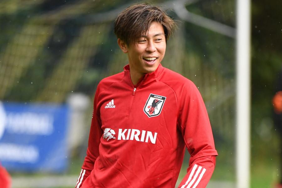 左SBでの起用が予想される日本代表DF安西幸輝【写真:©JFA】