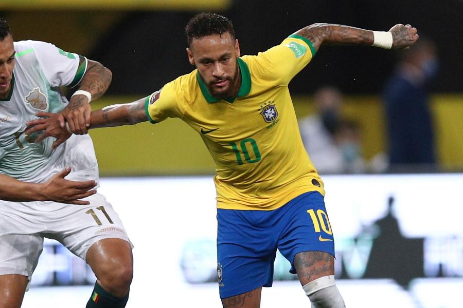 ブラジル代表FWネイマール【写真:AP】