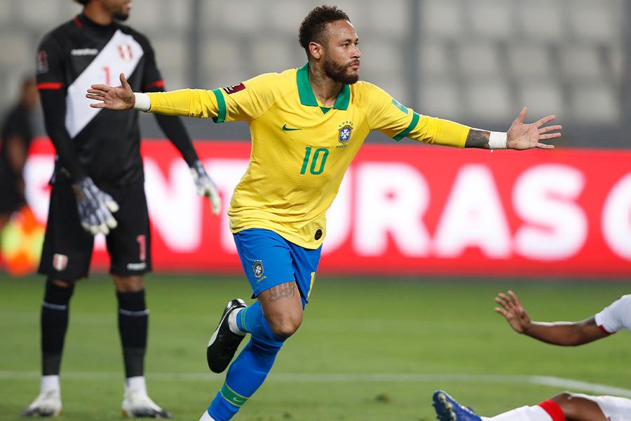 ブラジル代表で中心選手として活躍しているパリ・サンジェルマンFWネイマール【写真:AP】