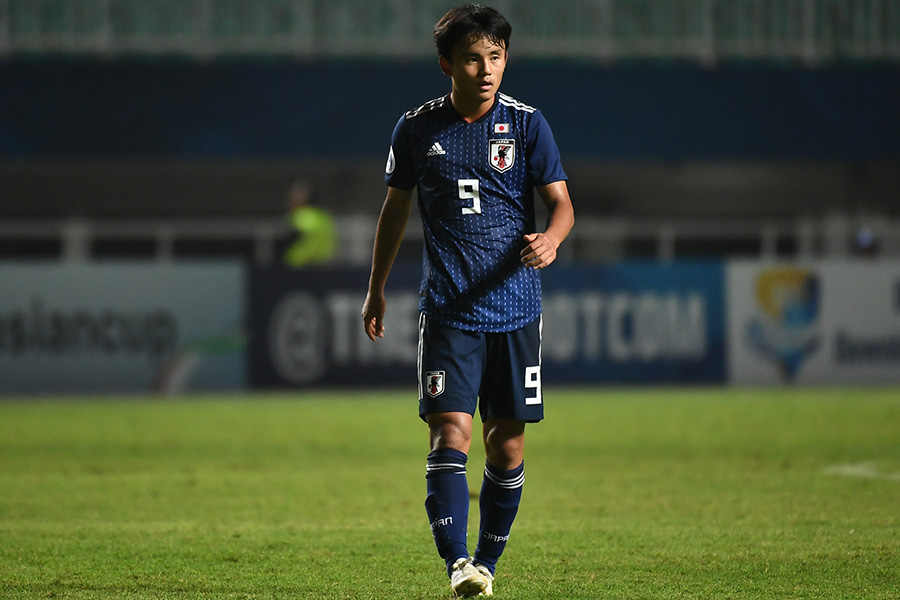 MF久保建英のU-19アジア選手権で決めたフリーキックに再注目【写真:Getty Images】