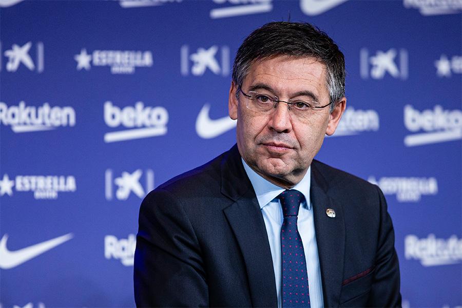 バルセロナのジョゼップ・マリア・バルトメウ会長が辞任を決断【写真:Getty Images】