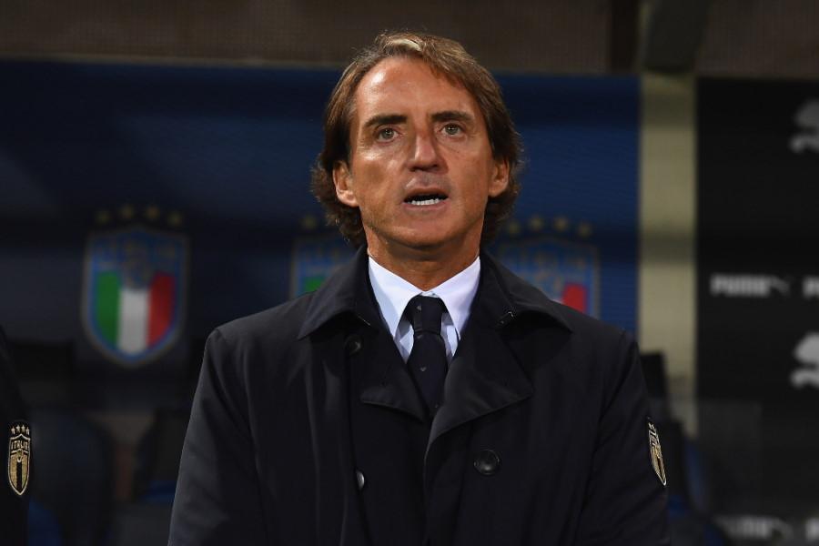 イタリア代表のロベルト・マンチーニ監督【写真:Getty Images】