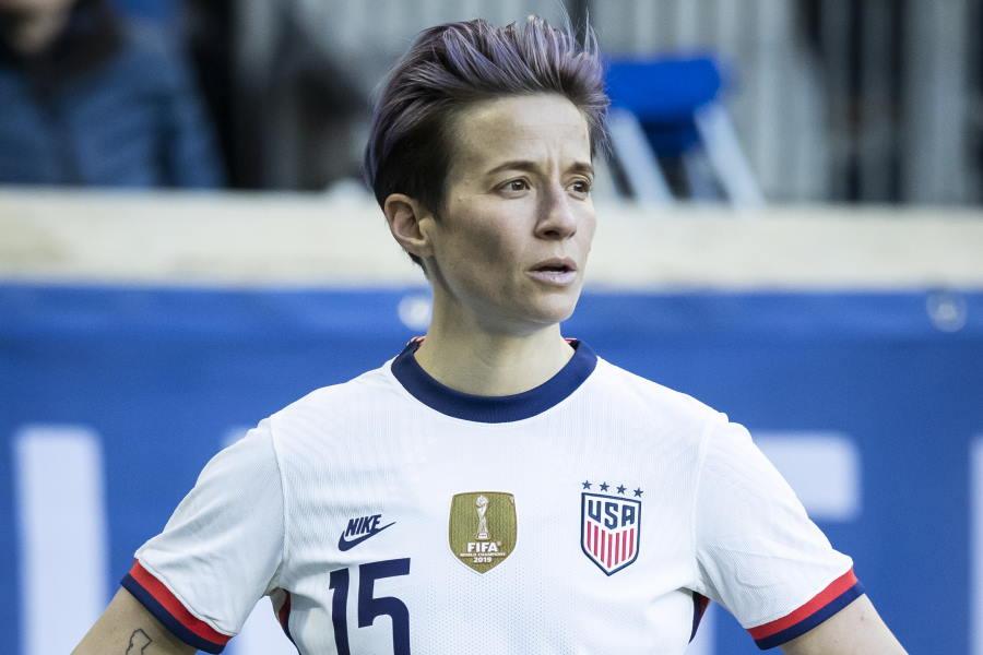 アメリカ女子代表MFミーガン・ラピノー【写真:Getty Images】