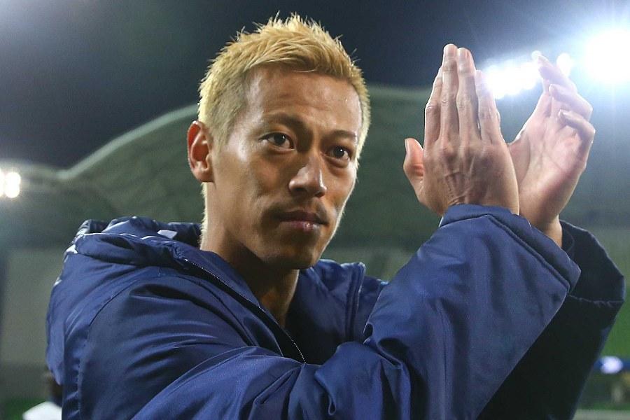 オランダ帰還を果たした元日本代表MF本田【写真:Getty Images】