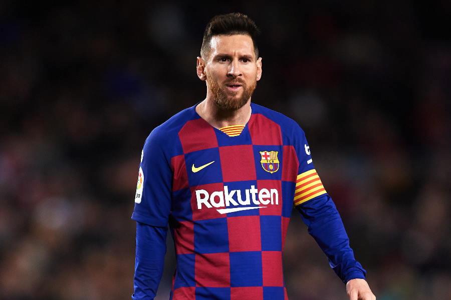 バルセロナのアルゼンチン代表FWリオネル・メッシ 【写真:Getty Images】