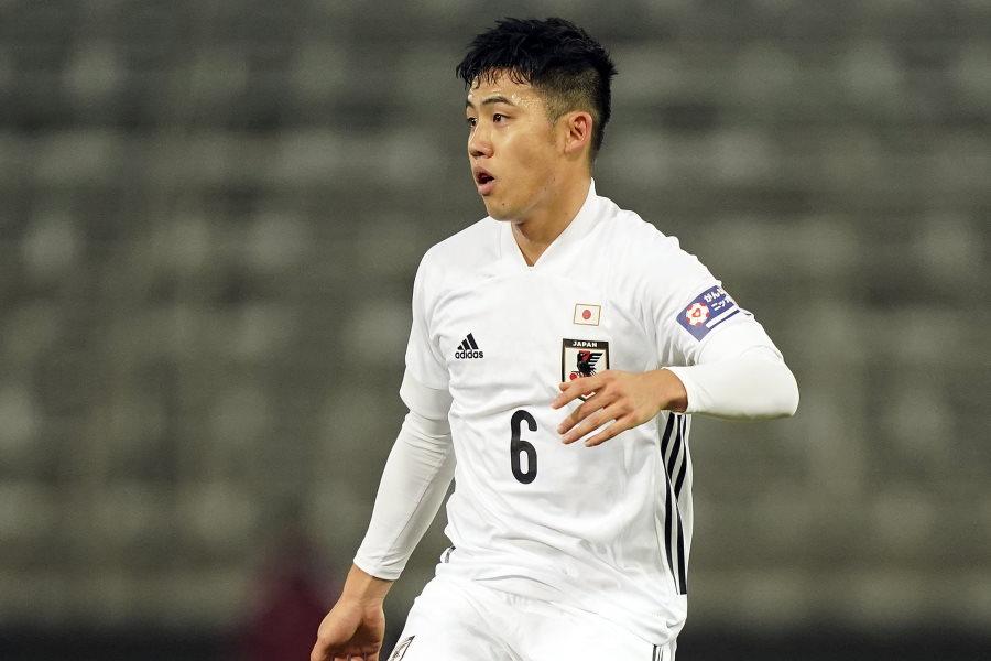 攻守で大活躍の日本代表MF遠藤航【写真:Getty Images】