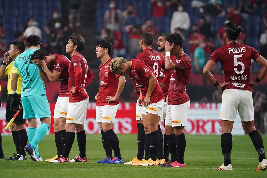 横浜F・マリノスに6失点で大敗となった浦和レッズ【写真:Getty Images】