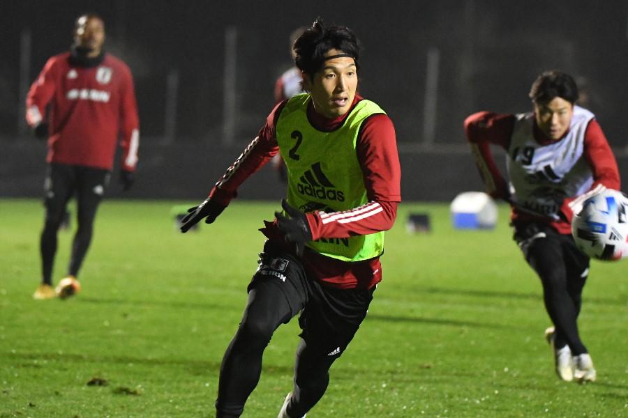 日本代表MF原口元気【写真:©JFA】