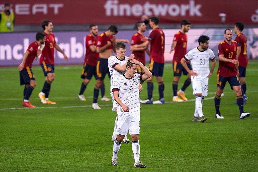 ドイツ代表がスペイン代表に6失点の大敗【写真:Getty Images】