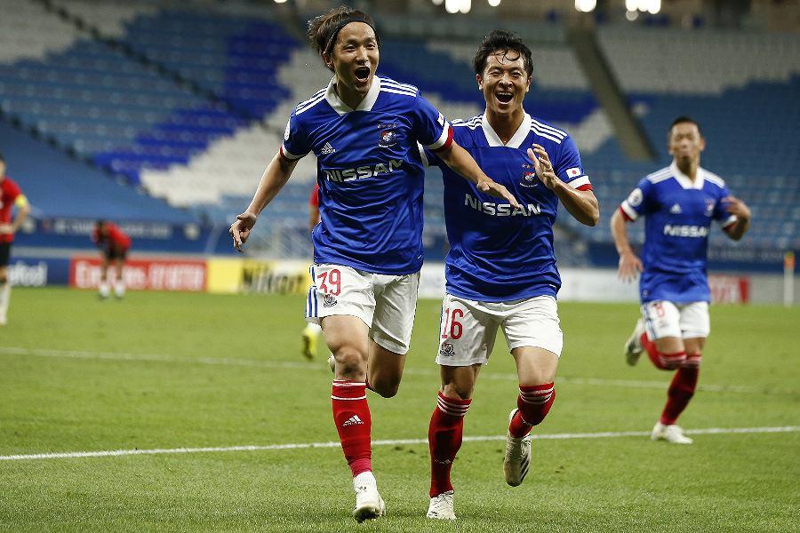 横浜FMのMF天野純が決勝弾【写真:©Y.F.M.】