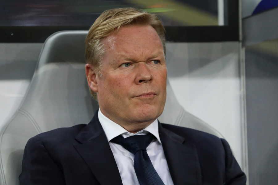 オランダ代表クーマン監督がバルサの監督就任の噂に言及【写真:Getty Images】