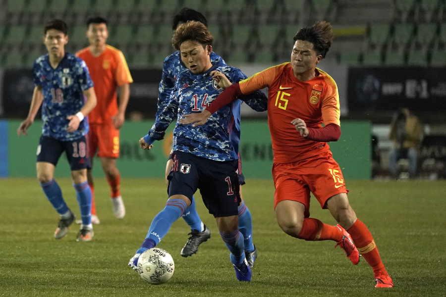 日本対中国の一戦を韓国メディアは「実力差が明確な試合だった」と伝えた【写真:Getty Images】
