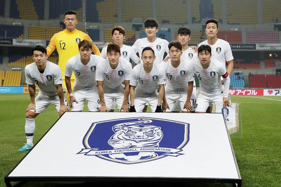 韓国男子代表の香港戦でも観客は1070人と少なかった【写真:Getty Images】