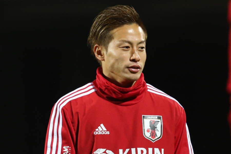 日韓戦への意気込みを語った、日本代表FW仲川輝人【写真:Football ZONE web】