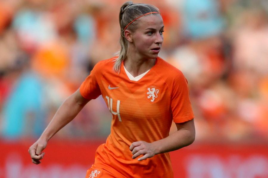 オランダ女子代表MFジャキー・フルーネン【写真:Getty Images】