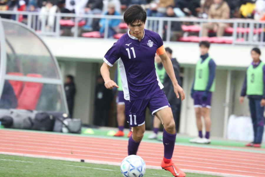 明治大キャプテン佐藤亮【写真:Football ZONE web】