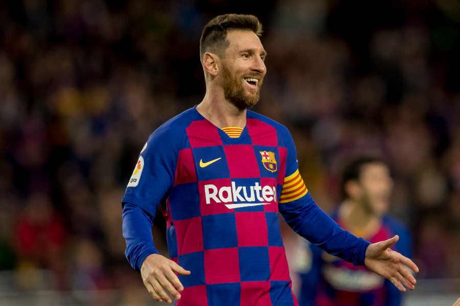 バルセロナのメッシが大記録に迫っている【写真:AP】